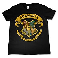 Harry Potter - Kinder T-Shirt Hogwarts Wappen