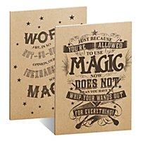 Harry Potter - Notizbücher Magic