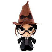 Harry Potter - Plüschfigur Harry Potter mit sprechendem Hut SuperCute