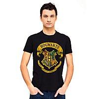 Harry Potter - T-Shirt Hogwarts Wappen T-Shirt