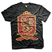 Harry Potter - T-Shirt Quidditch Team Gryffindor 07