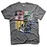 Harry Potter - T-Shirt Schlafsaal Wappen