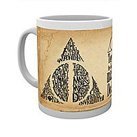 Harry Potter - Tasse Deathly Hallows Words