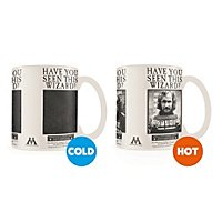 Harry Potter - Tasse mit Thermoeffekt Wanted Sirius Black