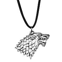 Game of Thrones - Anhänger & Kette Haus Stark