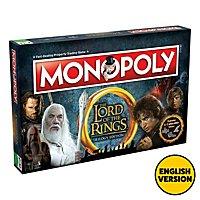 Herr der Ringe - Monopoly Brettspiel (Englische Version)