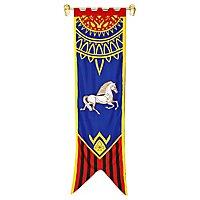 Herr der Ringe - Rohan Banner blau