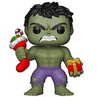 Hulk - Hulk XMas mit Geschenken Funko POP! Wackelkopf Figur