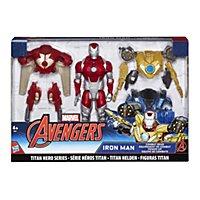 Iron Man - Actionfigur Titan Hero Iron Man Power-Up