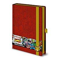 Iron Man - Premium Notizbuch Comic