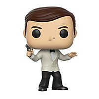 James Bond - Roger Moore (White Tux) Funko POP! Figur (Exclusive)