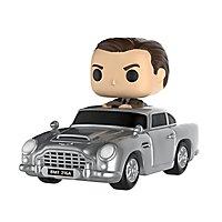James Bond - Sean Connery im Aston Martin DB5 Funko POP! Ride