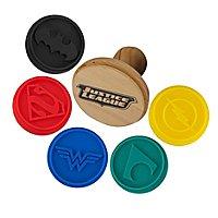 Justice League - Keksstempel Logos DC Helden