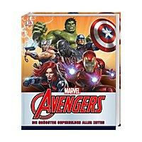 Marvel: Avengers - Buch Die größten Superhelden aller Zeiten
