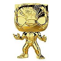 Marvel - Black Panther (Gold Chrome) Funko POP! Bobble-Head Figur