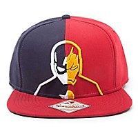 Marvel - Captain America vs Iron Man Snapback Cap