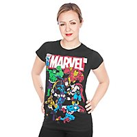 Marvel - Girlie Shirt Team-Up