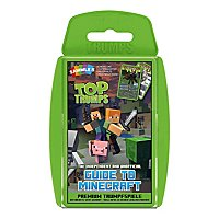 Minecraft - Top Trumps The Independent & Unofficial Guide to Minecraft Kartenspiel