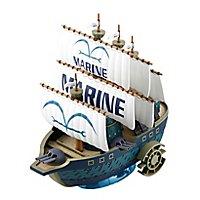 One Piece - Modellbausatz Marine Schiff