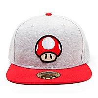 Nintendo - Toad Mushroom Logo Snapback Cap