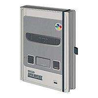 Nintendo - Premium Notizbuch SNES