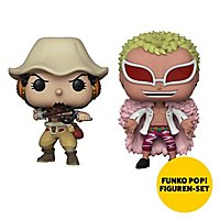 One Piece - One Piece Funko POP! 2er Figuren-Set