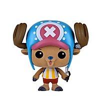 One Piece - Tony Tony Chopper (Flocked) Funko POP! Figur (Exclusive)