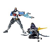 Overwatch - Ultimates Series Shrike Ana und Soldier 76 Actionfiguren