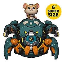 Overwatch - Wrecking Ball 6'' Super Size Funko POP! Figur