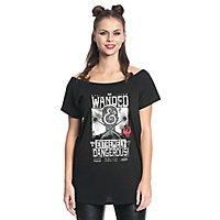 Phantastische Tierwesen - Girlie Shirt Wanded & Extremly Dangerous