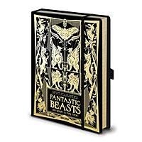 Phantastische Tierwesen - Premium A5 Notizbuch Fantastic Beasts