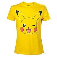 Pokémon - T-Shirt Pikachu Zwinkernd