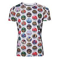Pokémon - T-Shirt Pokéball Allover Print