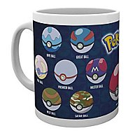 Pokémon - Tasse Pokéball Varianten