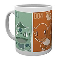 Pokémon - Tasse Start-Pokemon Kanto
