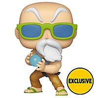 Dragon Ball - Meister Muten-Roshi in Kampfbereitschaft (Exclusive) als Funko Vinyl POP! Figur