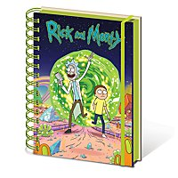 Rick and Morty - A5 Notizbuch Portal