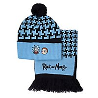 Rick and Morty - Beanie & Schal-Set