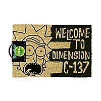 Rick and Morty - Fußmatte Dimension C-137