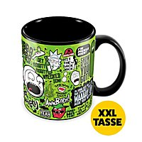 Rick and Morty - Mega-Tasse Quotes