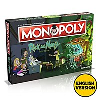 Rick and Morty - Monopoly Brettspiel (Englische Version)