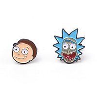 Rick and Morty - Rick & Morty Manschettenknöpfe