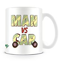 Rick and Morty - Tasse Man vs Car