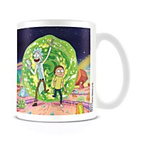 Rick and Morty - Tasse Portal