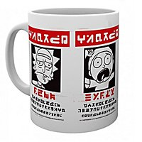 Rick and Morty - Tasse Wanted