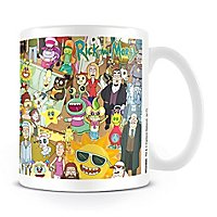 Rick and Morty - Tasse Wimmelbild