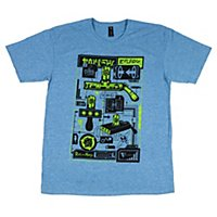 Rick & Morty - T-Shirt Portal Gun Loot Crate Exclusive