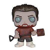 Shaun of the Dead - Zombie Ed Funko POP! Figur (Exclusive)