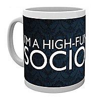 Sherlock - Tasse Sociopath