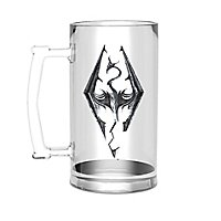 Skyrim - Bierglas Drachen Symbol